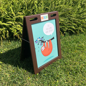 A-Frame Sign with Custom Magnetic Insert