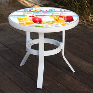 Aluminum Side Table