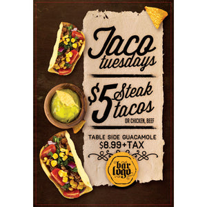 Magnet - A-Frame Sign (Taco Tuesday)