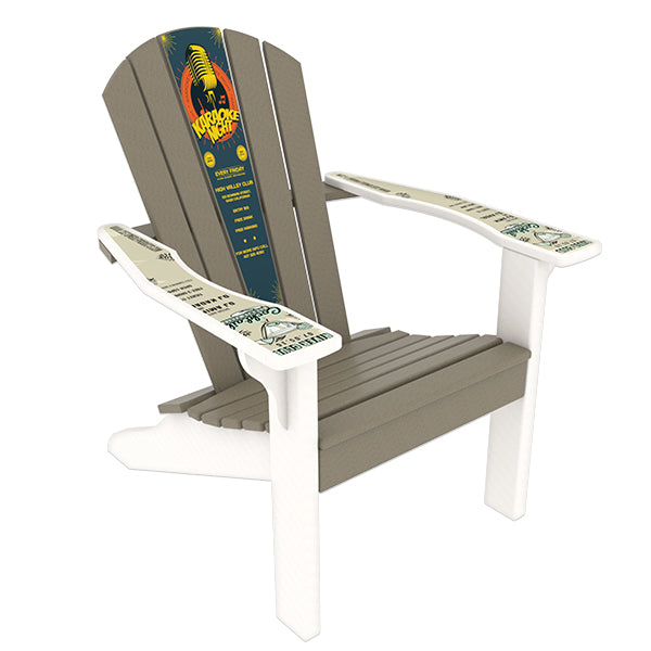 Terrific Adirondack Chair W Magnetic Insert Beatyapartments Chair Design Images Beatyapartmentscom