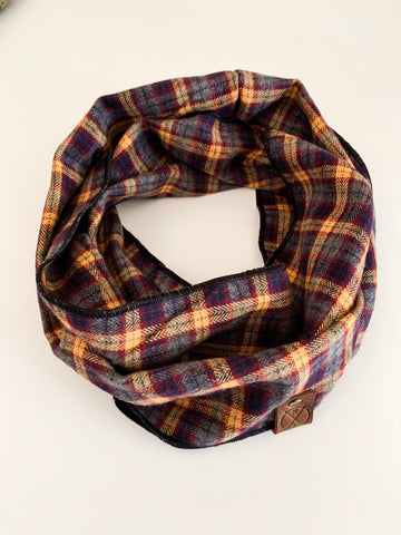 SAWYER - Reversible Infinity Scarf