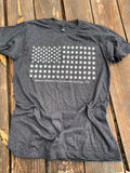 Paw Flag T-Shirt - Gray