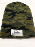 Native Instinct Logo Beanie - CAMO