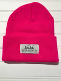Native Instinct Logo Beanie - PINK