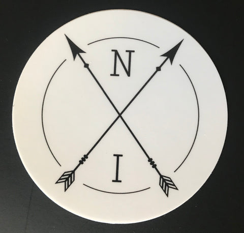 Native Instinct Logo Sticker