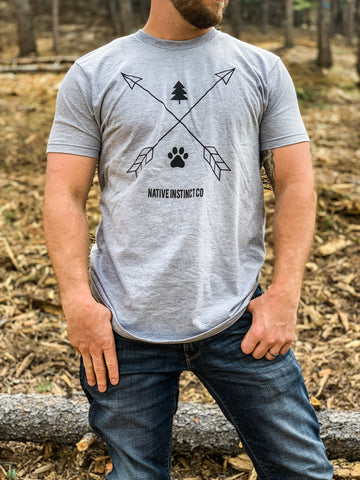 Never Adventure Alone LOGO T-Shirt