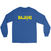 BAJA HQ YELLOW LOGO LONG SLEEVE T-SHIRT