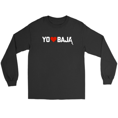 YO LOVE BAJA LONG SLEEVE T-SHIRT