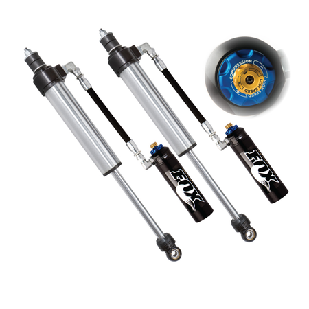 "FOX FACTORY RACE SERIES 2.5 RESERVOIR SHOCK (PAIR) - ADJUSTABLE  0-1.5"" SUPER DUTY"