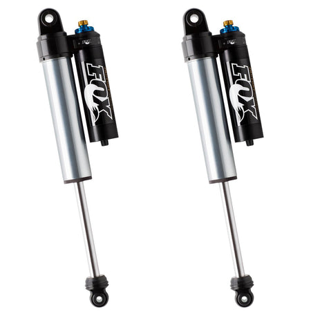 "FOX FACTORY RACE SERIES 2.5 RESERVOIR SHOCK (PAIR) ADJUSTABLE 0-1.5"" LIFT"