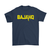 BAJA HQ YELLOW LOGO T-SHIRT