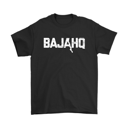 BAJA HQ WHITE LOGO T-SHIRT