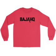 BAJA HQ BLACK LOGO LONG SLEEVE T-SHIRT
