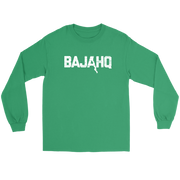 BAJA HQ WHITE LOGO LONG SLEEVE T-SHIRT