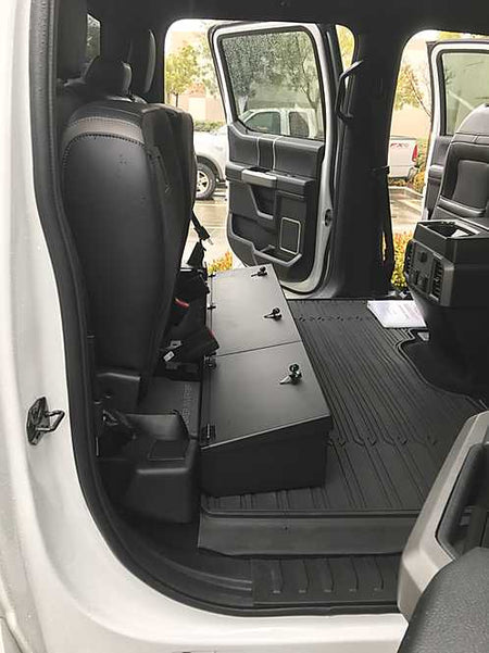 2015-2019 Ford F150 & 2017-2019 Raptor/Superduty Super Crew Under Seat Storage