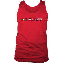All-Inclusive LGBTQ+EquALLlity for All Tank Top