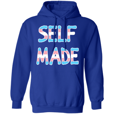 Self Made Transgender Pullover Hoodie