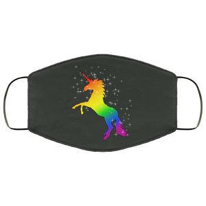 Rainbow Unicorn LGBTQ Face Mask