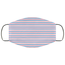 Trans Stripes Face Mask
