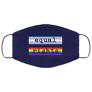 LGBTQ Equal Rights Face Mask