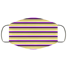 Non-Binary Stripes Face Mask