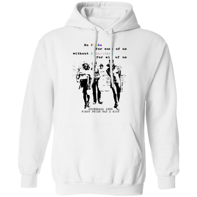 No Pride for some of us without liberation LGBT Pullover Hoodie