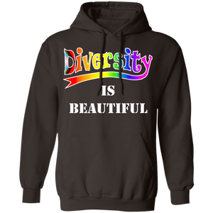 Diversity is beautiful LGBTQ Hoodie