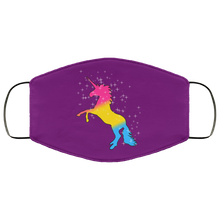Pansexual Pride Unicorn Face Mask