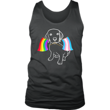 My dog love everyone LGBTQ Tank Top