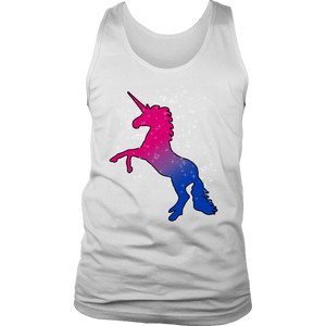 Fabulous Bisexual Unicorn LGBT Tank Top