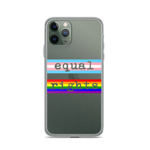 Equal Rights LGBTQ iPhone Case