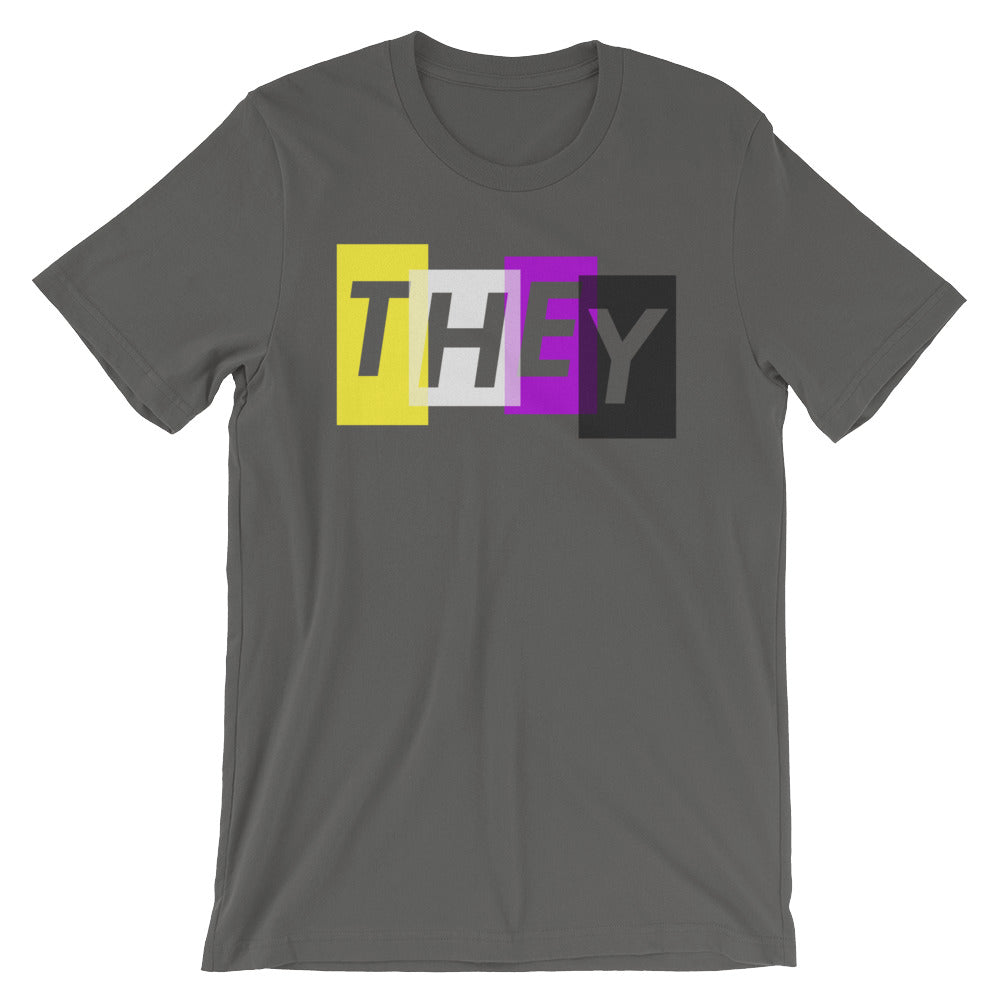 THEY Pronoun for Non-binary T-Shirt
