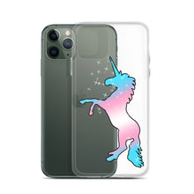 Trans Unicorn iPhone Case