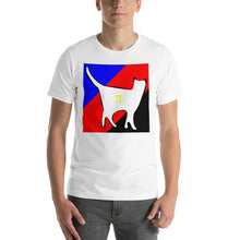 Cat Logo with Polyamorous Stripes T-Shirt