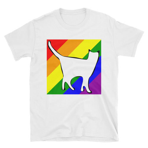 Rainbow Cat LGBTQ T-Shirt