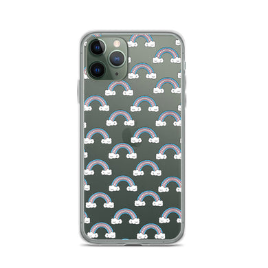Trans Rainbows iPhone Case