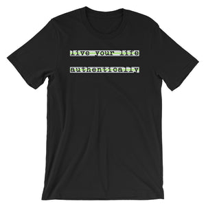 Live Authentically Agender T-Shirt