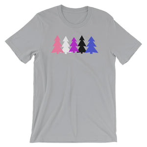Genderfluid Holidays Trees T-Shirt