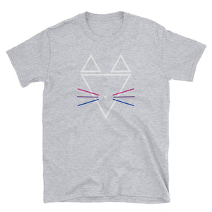 Bisexual Whiskers Short-Sleeve Unisex T-Shirt