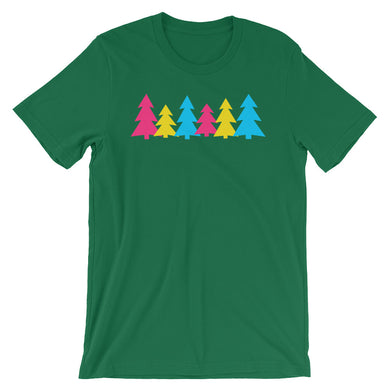 Pansexual Holigays Trees T-Shirt