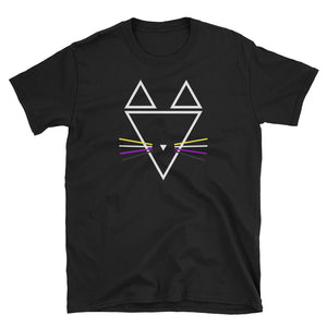 Non-binary Whiskers Short-Sleeve Unisex T-Shirt