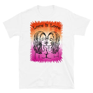 Love is Love lesbian wlw T-Shirt