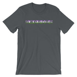 Awesome Genderqueer Unisex T-Shirt