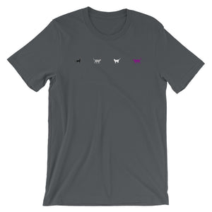 Asexual Cats (1 row) Unisex T-Shirt