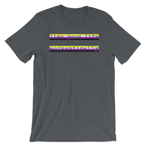 Live Authentically Non-binary T-Shirt