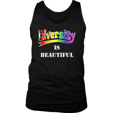 Diversity is beautiful LGBTQ Tank Top