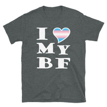 I Love My Trans Boyfriend T-Shirt