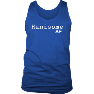 Handsome AF (Assigned Female) FTM Transgender Tank Top