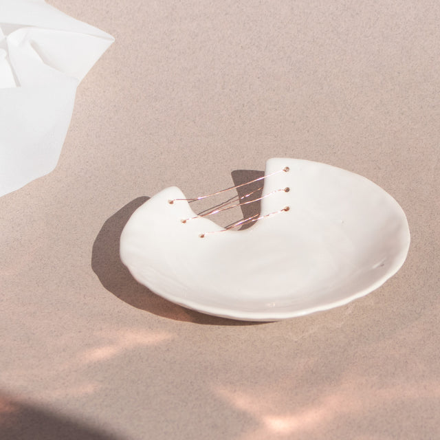 Aria White Small Dish