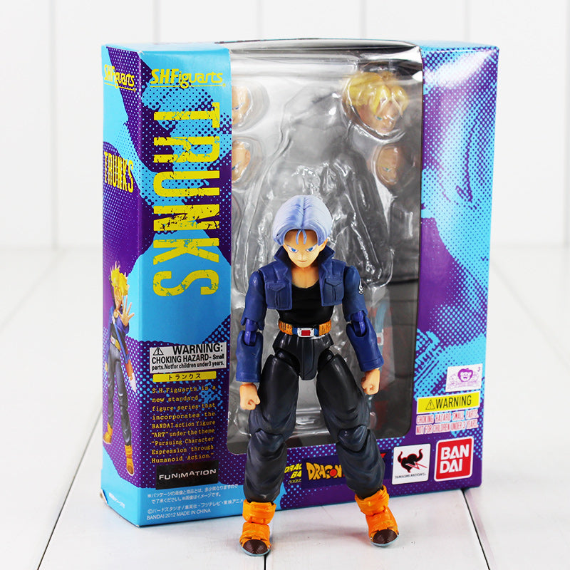 Trunks SHFiguart Dragon Ball Z dragonball PVC Figure Toy with Box